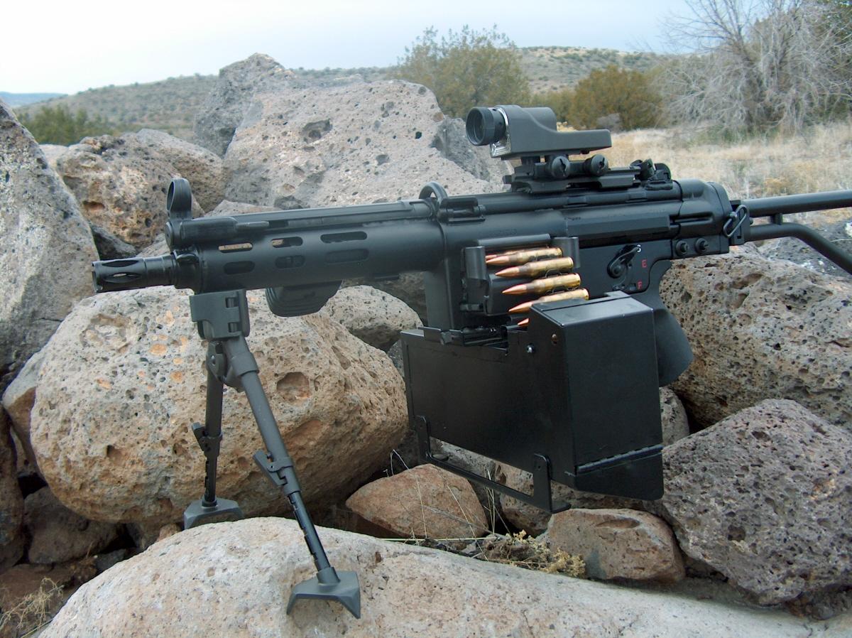 hk machine gun